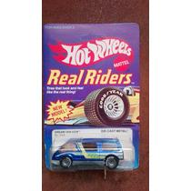 Hot Wheels Dream Van Xgw 80s Llanntas De Goma Garage