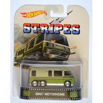Gmc Motorhome Stripes Retro Entertainment