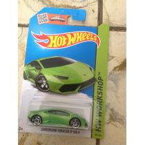 Hot Wheels Lamborghini Huracán Lp 610-4 (verde) 2015