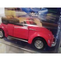 Maisto Volkswagen Cabriolet Rojo 10 Cm