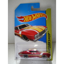Hot Wheels 69 Ford Torino Talladega Rojo 235/250 2014