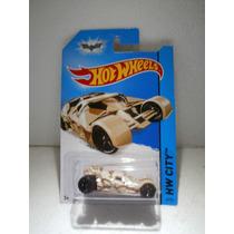 Hot Wheels Batmobile The Tumbler Camouflage Batman 2014