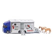 Camión Trasporte De Caballos Siku Esc.1/50 Nuevo!