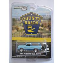 1977 Plymouth Trail Duster Azúl Seríe County Roads