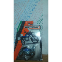 Matchbox Bmw Motocicleta Reparto Metal / Metal