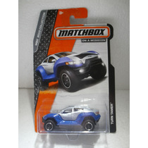 Matchbox On A Mission Turn Tamer Azul/gris 1:64