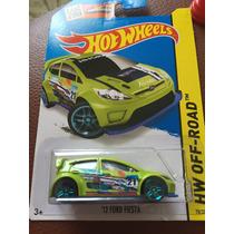 Hot Wheels 12 Ford Fiesta Verde