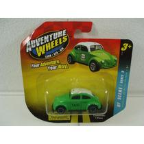 Adventure Wheels Vw Beetle Bocho Taxi Verde 1:64 Ndd