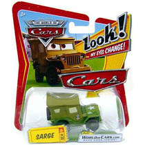 Sarge Look My Eyes Change Envio $75 Estafeta Disney Cars