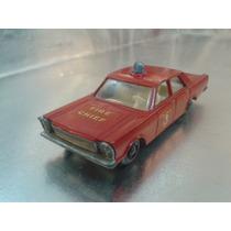 Matchbox Lesney - Ford Galaxie Bomberos De 1966 M.i.england