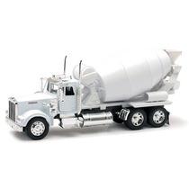 Camion Kenworth Torton Revolvedora Concreto A Escala 1:32