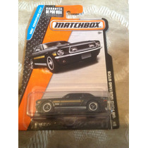 Matchbox 68 Ford Mustang Gt/cs (negro)