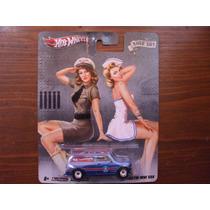 Hot Wheels Pop Culture Nose Art Chevy 67 Austin Mini Van