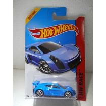 Hot Wheels Track Stars Mastretta Mxr Azul 160/250 2014