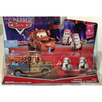 Mate Con Botes De Alinol & Tsashimi Tokyo Cars Disney Pixar