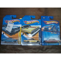 Tm.hot Wheels Lote Chevi,s Impala 61/62/64