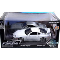 Jada Supra Y Charger Rapido Y Furioso Fast And Furious 1/24