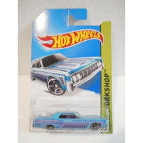 Hot Wheels 64 Lincoln Continental Azul 208/250 2014