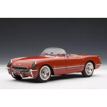 Corvette 1954 Auto A Escala De Colección