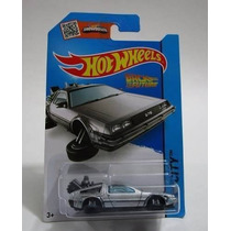 Hot Wheels Delorean Volver Al Futuro