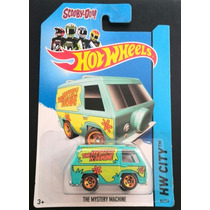 Hotwheels The Mystery Machine Scooby Doo Coleccionable
