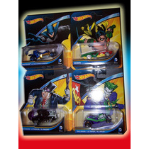 Batman Series Hot Wheels Robin, Joker, Penguin Individual 4