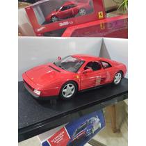 Ferrari 348 Tb, Escala 1:18, Marca Hotwheels.