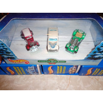 2000 Hot Wheels Set 3: Vintage Hot Rods Christmas Holiday
