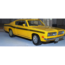 1969 Plymouth Barracuda Yellow 1/18