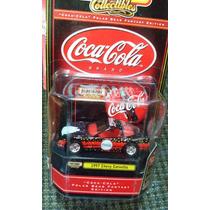 Matchbox Cocacola 1997 Chevy Corvette Llantas De Goma