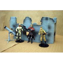 Lee Mi Anuncio X Diorama Militar Bunker C 3 Figura Cobra
