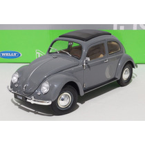 Vw Sedan 1950 Escarabajo/beetle/käfer Escala 1:18 Welly