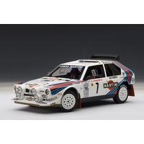 Lancia S4 Rally Car Auto A Escala De Colección