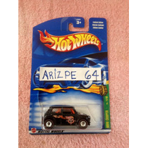 Hot Wheels Mini Cooper Llantas De Goma T.hunt