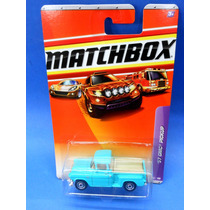 2009 Matchbox 57 Gmc Pickup Verde 38/100