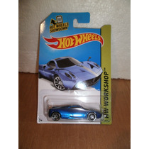 Hot Wheels Pagani Huayra Azul 198/250 2014