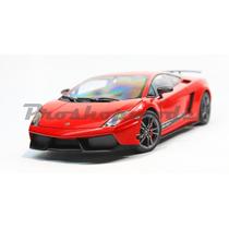 Lamborghini Gallardo Superleggera Rojo Autoart 1/18.