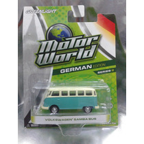 Greenlight - Vw Samba Bus Combi Del 2013 En Blister
