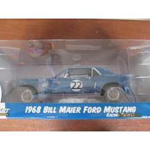 Auto De Colección Ford Mustang Bill Maier 1968 Racing