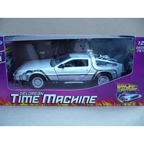 Volver Al Futuro 1 Delorean Dmc 1985 Esc: 1/24 Welly