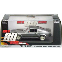 Greenlight Eleanor 1/43 Ford Mustang 67 Shelby 60 Segundos