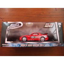 Greenlight Fast & Furious Dom´s 1993 Mazda Rx-7