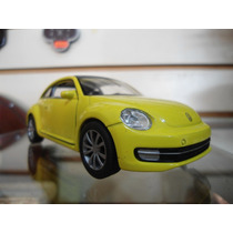 Volkswagen New Beetle 2012 (amarillo) - Welly - 1/38