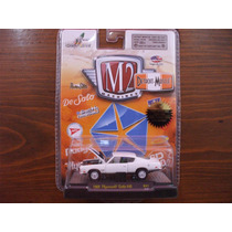 M2 Machines Detroit Muscle 1969 Plymouth Cuda 440