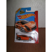 Hot Wheels Mastretta Mxr Naranja 160/250 2014