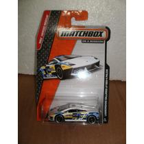 Matchbox Lamborghini Gallardo Lp 560-4 Police Blanco 1:64