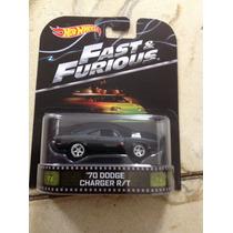 Hot Wheels 70 Dodge Charger R/t Rápido Y Furiosos Retro