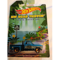 Hot Wheels 1978 Dodge Red Express Truck Road Trippin