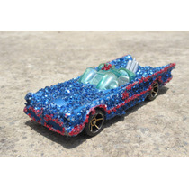 Vintage Raro Hot Wheels Batimobil Con Diamantina!