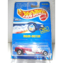 Hot Wheels Rigor Motor Guinda Collect #247 1993 1:64